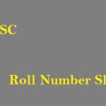 PPSC Roll Number Slip download
