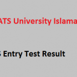 NTS Test Result 2021 COMSATS University Islamabad Spring Admissions