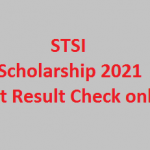 STSI Laptop and Tabs Scholarship 2021