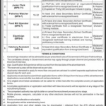 Directorate General of Fisheries kpk Jobs ATS Form Roll No Slip