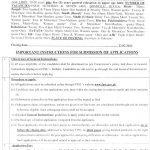 Military Accounts Senior Auditor Jobs FPSC Roll No Slip Test Syllabus