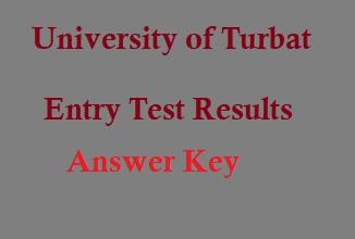 University Of Turbat NTS Test Result 21st February Answer Key